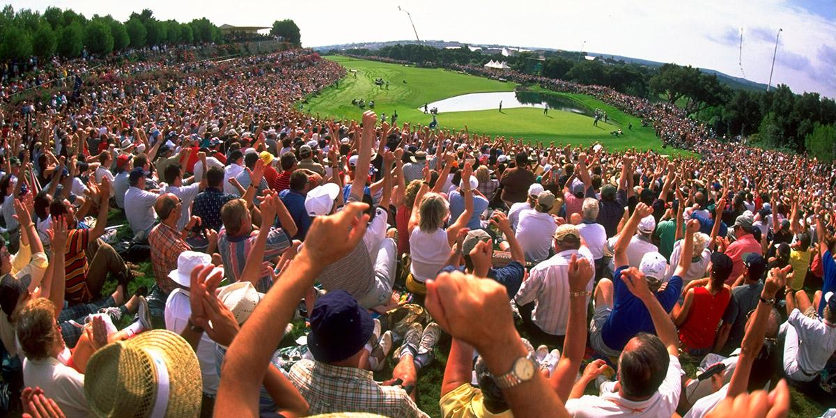 Valderrama Hole 17th Tyder Cup 1997
